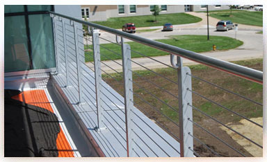 Example of our metal railing work